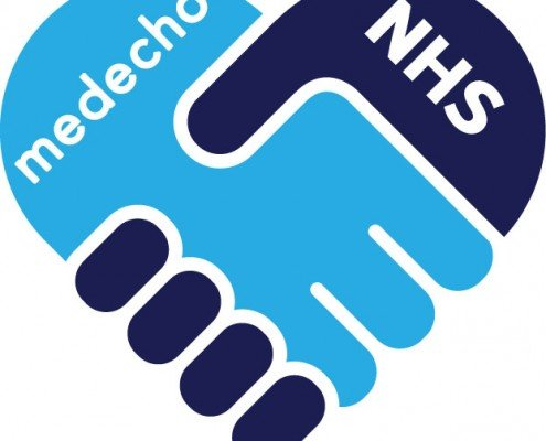 Medecho and NHS Trusts Handshake